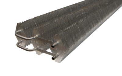 Statische Wärmeaustauscher aus Edelstahl/Aluminium für große Anlagen (Direktverdampfung und/oder Solebetrieb)