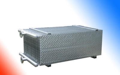 Wärmeaustauschplatten-System mit Direktverdampfung/Solebetrieb