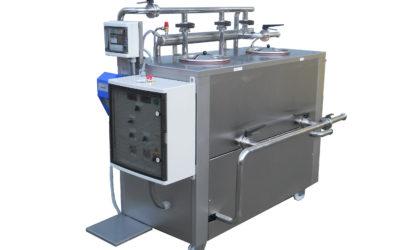 Fahrbare CIP-Einheit mit elektronischer Konzentrationssteuerung – NEU mit Desinfektionsmittel