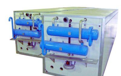 Réservoirs de stockage de glace sans groupe réfrigérant à détente directe