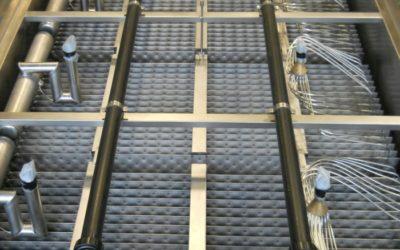 Réservoir PC pour la production continue d'eau glacée