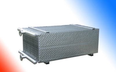 Batteries de plaques à immersion à détente directe / glycol
